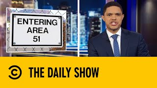 U.S. Navy Confirms Leaked UFO Videos Are Real | The Daily Show With Trevor Noah