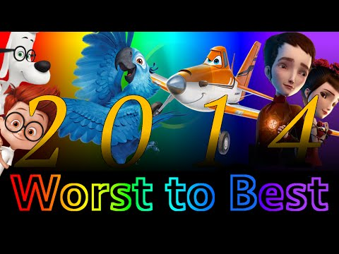 Worst to Best: Animated Films of 2014 Part 1