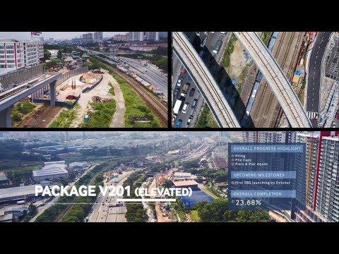 MRT SSP Line Project Progress Video (2016-2017)