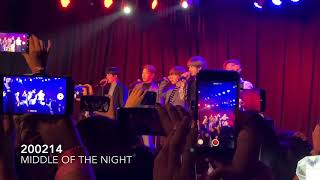[200214] MONSTA X (몬스타엑스) Performance and Q&A - Middle of th…