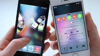 comment mettre 5 application dans la barre' iphone