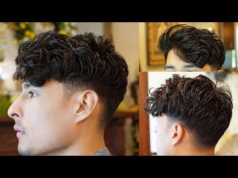 men's-messy-fringe-hairstyle- -hair-trends-2017