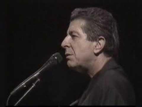 Leonard Cohen Chelsea Hotel #2 Live