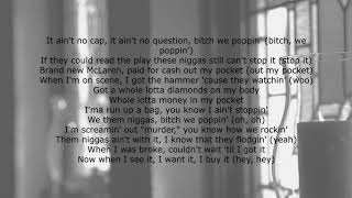YoungBoy Never Broke Again - We Poppin (Lyrics)