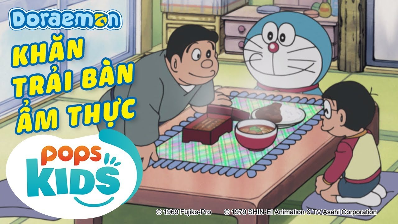 [S6] Doraemon Tập 276 – Khăn Trải Bàn Ẩm Thực, Việc Làm Thêm Của Người Tuyết – Hoạt Hình Tiếng Việt