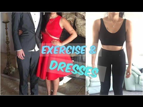VLOG: EXERCISE & DRESSES