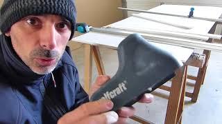 Découper une plaque de plâtre avec les outils Wolfcraft