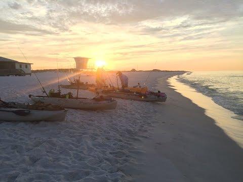 Kayak Fishing Ft. Pickens National Park - Pensacola, Florida!