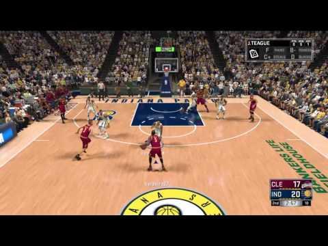NBA 2K17 Cavaliers vs Pacers online