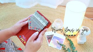 Yiruma - River Flows In You | Kalimba Cover with Easy Tabs ♡
