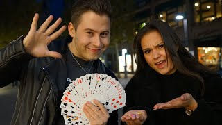 Das ist der BESTE Zaubertrick der WELT😳 - Street Magic in Heilbronn ESKALIERT!