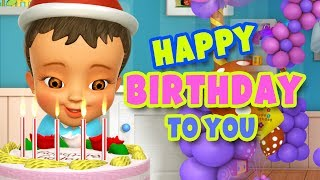 Gambar cover Happy Birthday Song in Hindi | Janamdin Mubarak Ho | Hindi Rhymes | Infobells