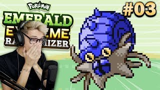 Pokemon Emerald Extreme Randomizer • RISKING IT ALL! • #03
