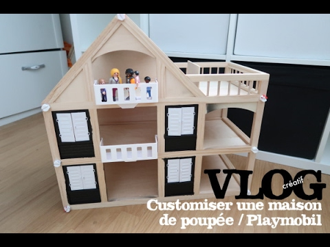 titisse vlog creatif customiser une maison en bois. Black Bedroom Furniture Sets. Home Design Ideas