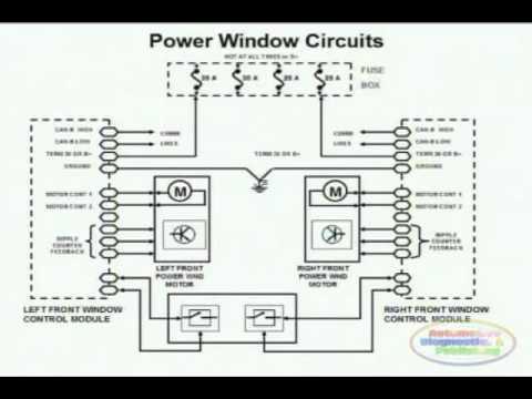 power window wiring diagram 1