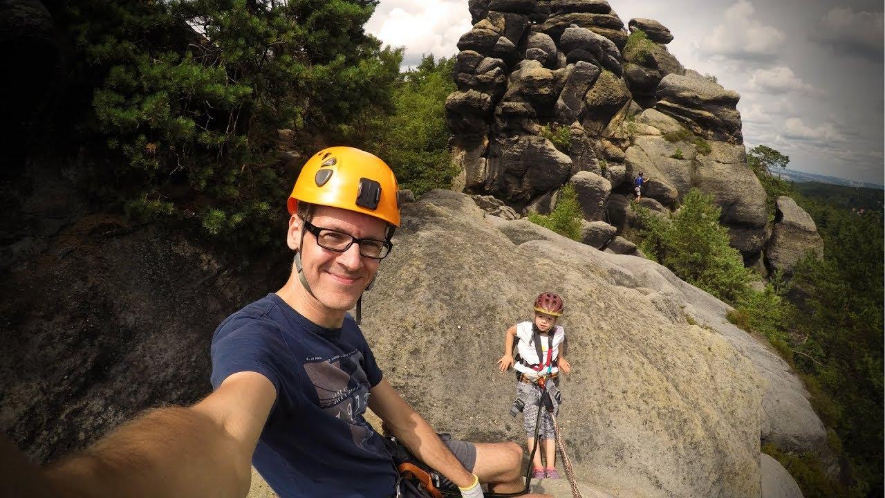 Klettersteig Zittauer Gebirge : Klettersteig mit meiner jährigen nonnensteig zittauer gebirge
