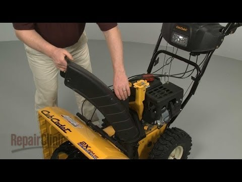 Lower Chute - Cub Cadet Snowblower