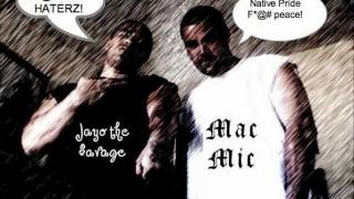 Chuck of the dice Jayo the savage-Native American Rapper- West Coast- North West- Seattle