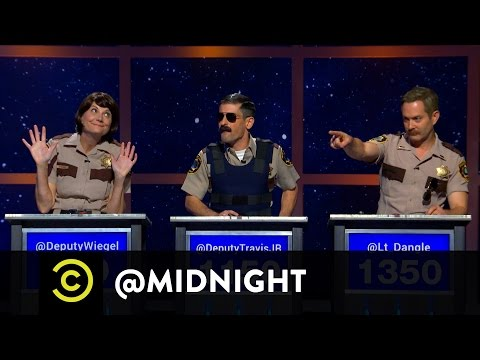Reno 911! on @midnight w Chris Hardwick featuring Kerri KenneySilver, Ben Garant, Tom Lennon