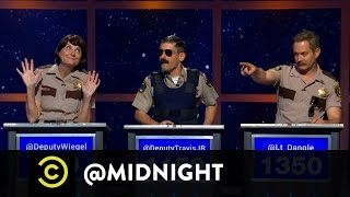 Reno 911! on @midnight w/ Chris Hardwick featuring Kerri Kenney-Silver, Ben Garant, Tom Lennon