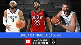 Recorded Live: Harris Rubenstein & Tom Downey - Live Reaction To NBA Deadline