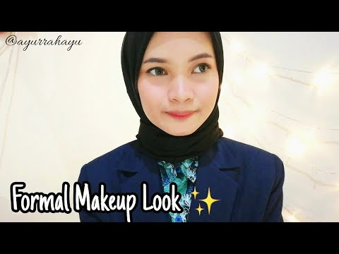 Tutorial Makeup ke Kantor (Office Look) || Ayu Rahayu - YouTube