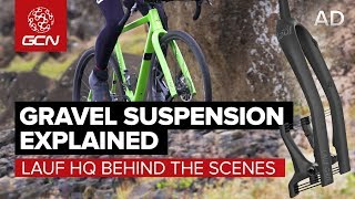 Gravel Bike Suspension?! | Meeting Lauf In Iceland