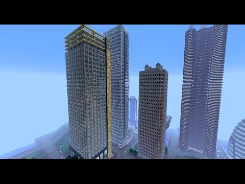 GÖKDELEN YAPIYORUZ !!! - Minecraft Modern Evler