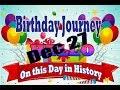 Birthday Journey Dec 27 New