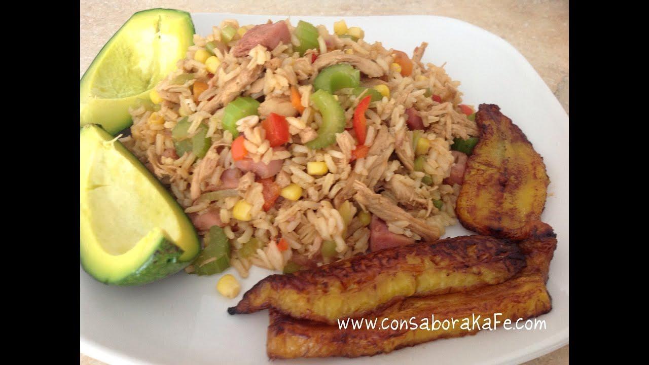 RECETA: Mi Chofán Dominicano {Dominican chinese rice} ♦ consaboraKaFé