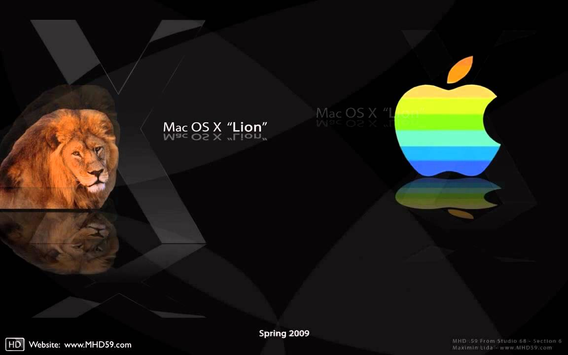 hd wallpaper mac os x lion - youtube