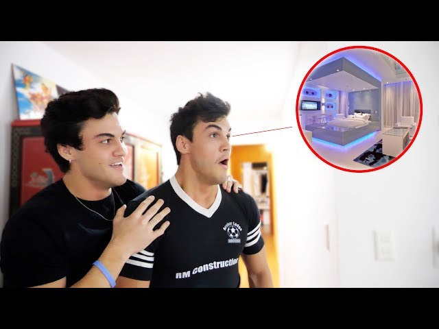 GIVING EACH OTHER EPIC ROOM MAKE OVERS!