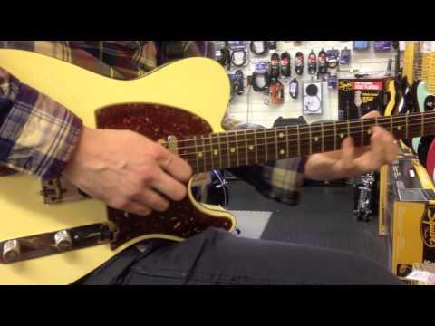 Matchetts Music - Fender Custom Shop 60's Relic Telecaster