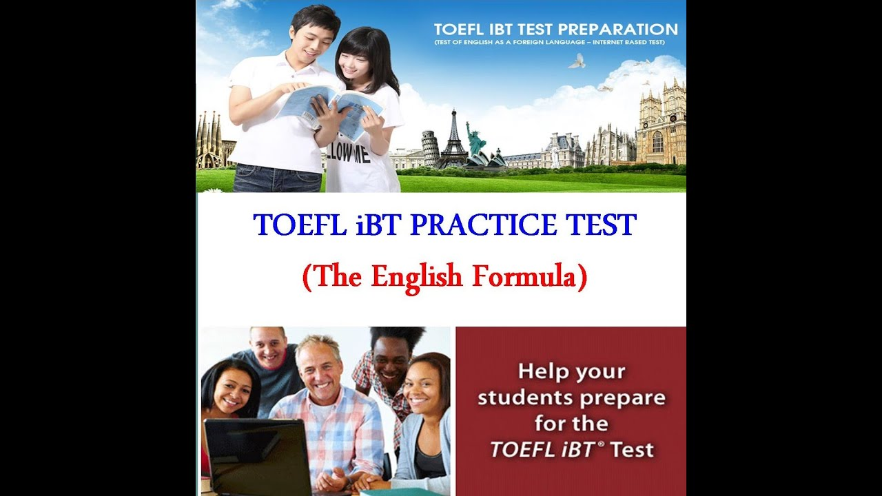 toefl test 1 Toefl writing question 1 integrated writing – (read, listen, explain): the reading and the lecture will be on an academic subject in one of the following areas.