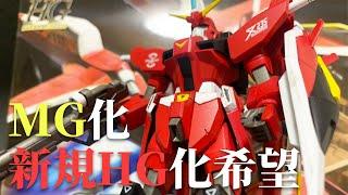 【機動戦士ガンダムSEED DESTINY】MG化、新規HG化希望!願いを込めて、HG セイバーガンダムを製作!