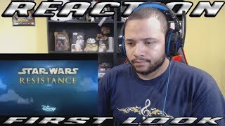 First Look Trailer - Star Wars Resistance | Disney | Reaction