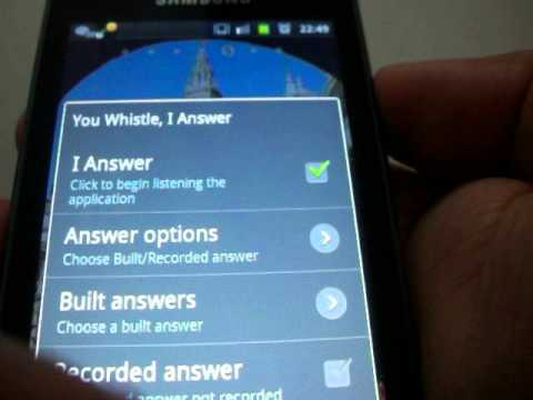 UWIA You Whistle I Answer - App Android - YouTube