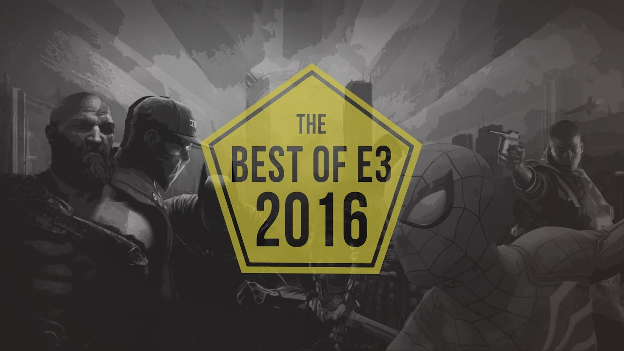 Best of E3 2016 - Trailers (Best Games of 2016 -2017 Mashup)