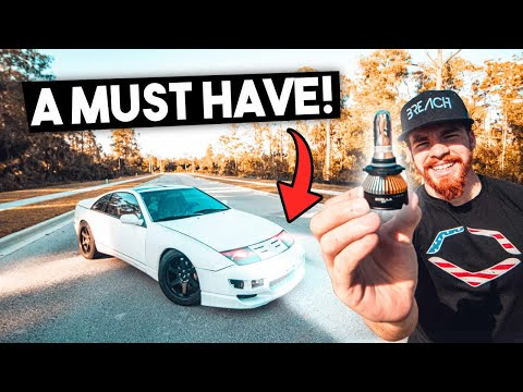 Nissan 300ZX Gets COLOR CHANGING LED LIGHTS! + 370Z Tune Updates