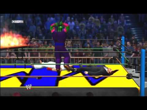 WWE 12 - Piccolo vs Donald Trump vs Ryu [Triple Threat Match]