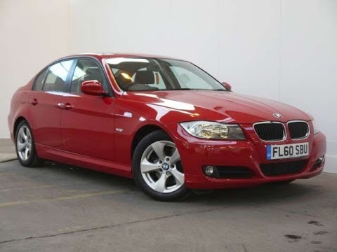 2010 BMW 320d EfficientDynamics 163 Saloon Red For Sale In Hampshire ...