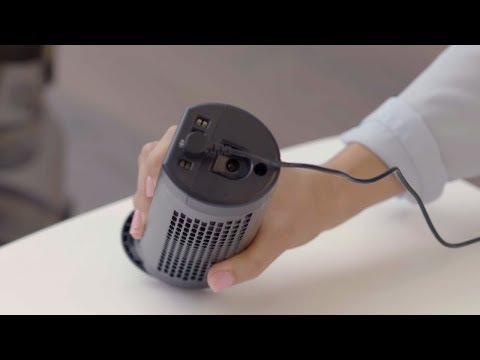 How to charge the Shark ION™ P50 cordless upright vacuum