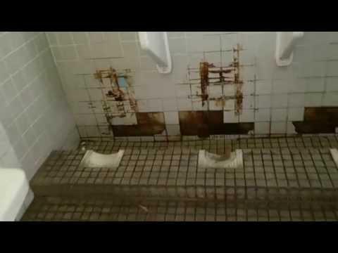 近鉄東青山駅 直下式ぼっとんトイレ