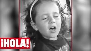 Ariana grande de niña