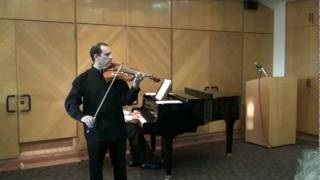 Dima Zukerman plays Benda-Grave