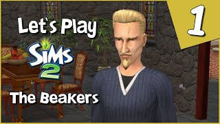 Let's Play The Sims 2 - The Beakers #1 - Why Are There So Many Bugs?! D: