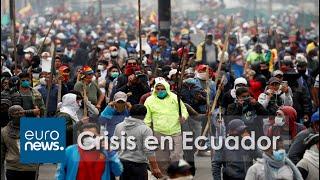 Ecuador bajo estado de excepción en medio de disturbios y protestas