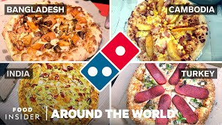 What Domino's Pizza Toppings Look Like Around The World