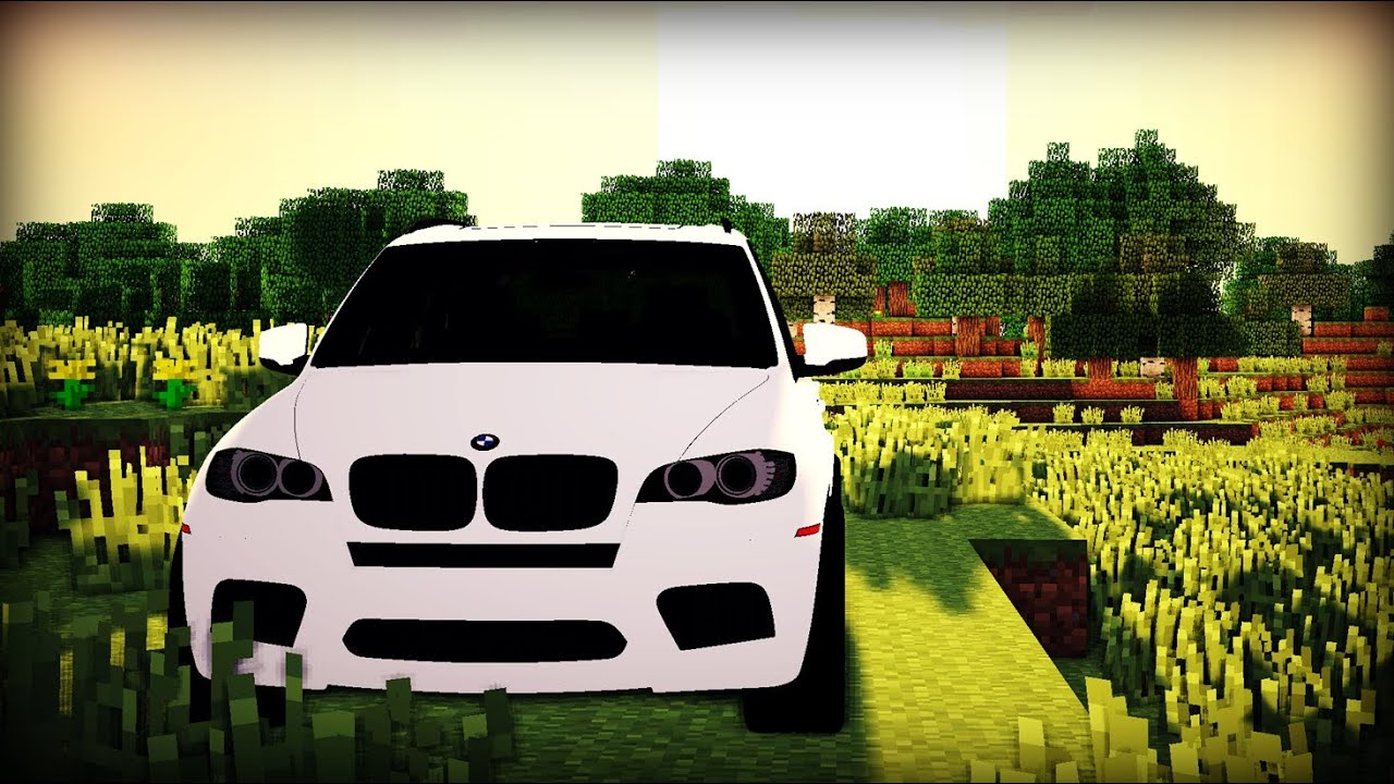 Minecraft Bmw Car Mod Youtube