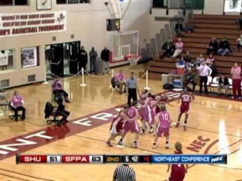 Saint Francis Pa Sacred Heart Womens Basketball Highlights 220